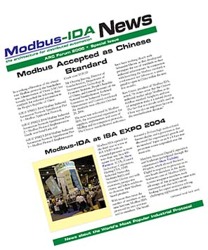 Modbus Newsletter